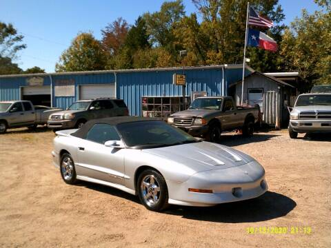 1997 Pontiac Firebird for sale at Tom Boyd Motors in Texarkana TX