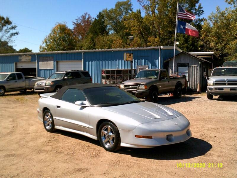 1997 Pontiac Firebird for sale at Tom Boyd Motors in Texarkana TX