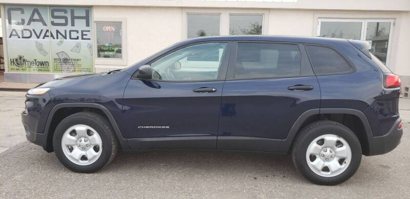 2014 Jeep Cherokee for sale at HomeTown Motors in Gillette WY