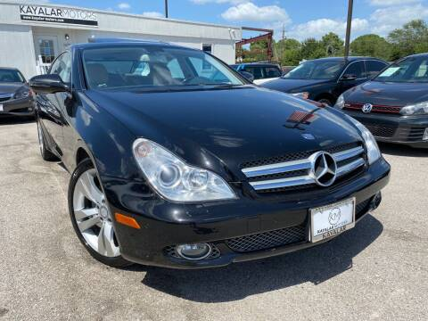2009 Mercedes-Benz CLS for sale at KAYALAR MOTORS in Houston TX