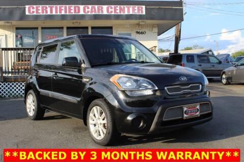 2013 Kia Soul for sale at CERTIFIED CAR CENTER in Fairfax VA