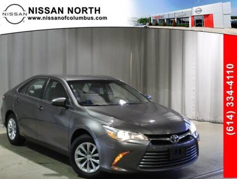 2017 Toyota Camry for sale at Auto Center of Columbus in Columbus OH