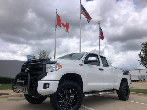 2015 Toyota Tundra for sale at TWIN CITY MOTORS in Houston TX