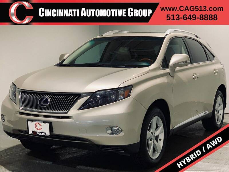 2011 Lexus RX 450h for sale at Cincinnati Automotive Group in Lebanon OH