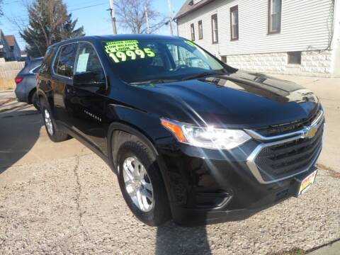 2018 Chevrolet Traverse for sale at Uno's Auto Sales in Milwaukee WI