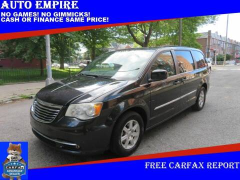 2012 Chrysler Town and Country for sale at Auto Empire in Brooklyn NY