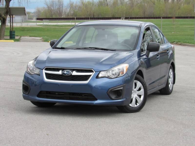 2012 Subaru Impreza for sale at Highland Luxury in Highland IN