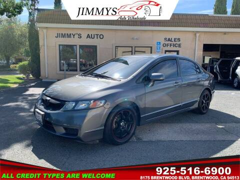 2011 Honda Civic for sale at JIMMY'S AUTO WHOLESALE in Brentwood CA