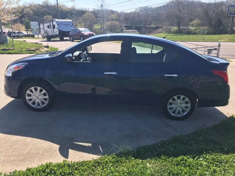 2018 Nissan Versa for sale at HIGHWAY 12 MOTORSPORTS in Nashville TN