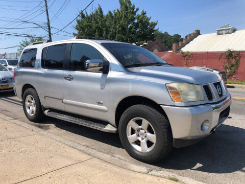 2006 Nissan Armada for sale at Deleon Mich Auto Sales in Yonkers NY