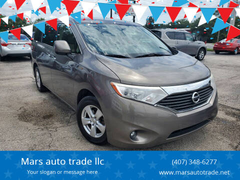 2015 Nissan Quest for sale at Mars auto trade llc in Kissimmee FL