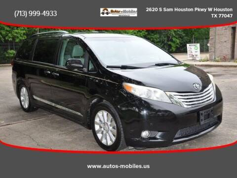 2011 Toyota Sienna for sale at AUTOS-MOBILES in Houston TX