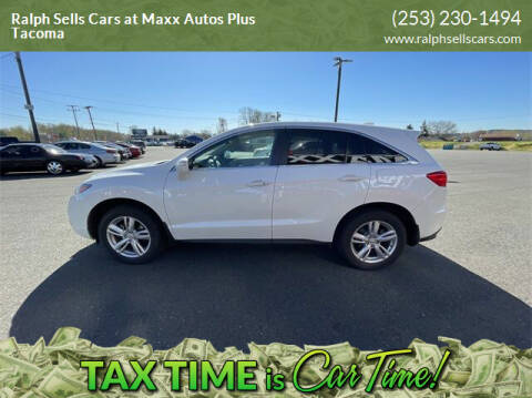2013 Acura RDX for sale at Ralph Sells Cars at Maxx Autos Plus Tacoma in Tacoma WA
