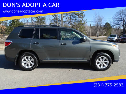 2011 Toyota Highlander for sale at DON'S ADOPT A CAR in Cadillac MI