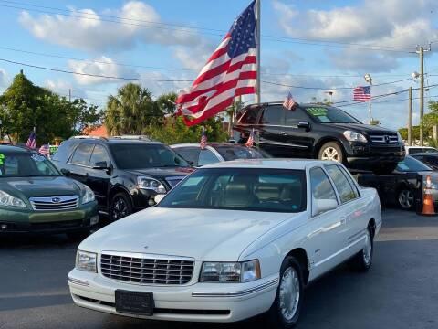 1998 Cadillac DeVille for sale at KD's Auto Sales in Pompano Beach FL