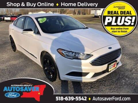 2017 Ford Fusion for sale at Autosaver Ford in Comstock NY