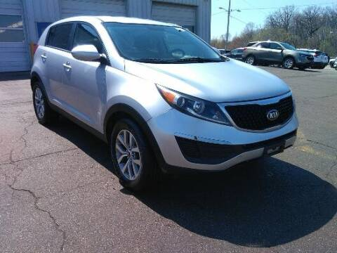 2015 Kia Sportage for sale at NORTH CHICAGO MOTORS INC in North Chicago IL