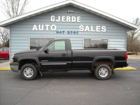 2005 Chevrolet Silverado 2500HD for sale at GJERDE AUTO SALES in Detroit Lakes MN
