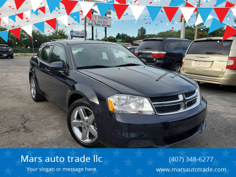 2012 Dodge Avenger for sale at Mars auto trade llc in Kissimmee FL