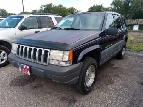 1997 Jeep Grand Cherokee for sale at L & J Motors in Mandan ND