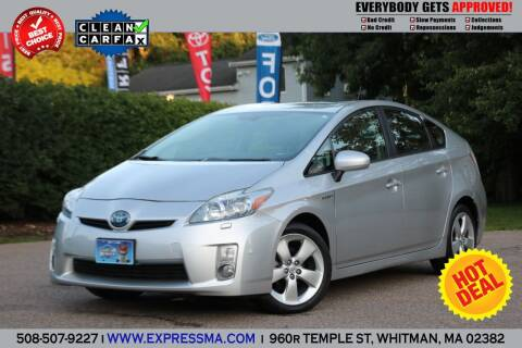 2010 Toyota Prius for sale at Auto Sales Express in Whitman MA