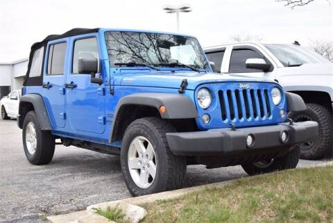 2016 Jeep Wrangler Unlimited for sale at BOB ROHRMAN FORT WAYNE TOYOTA in Fort Wayne IN