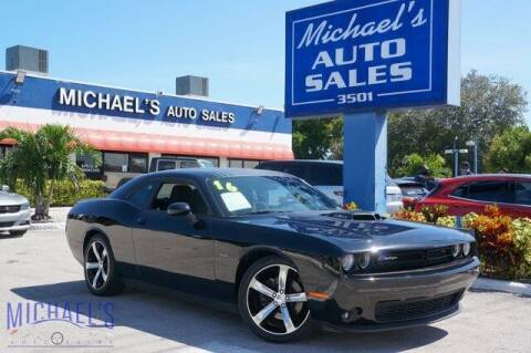 2016 Dodge Challenger for sale at Michael's Auto Sales Corp in Hollywood FL