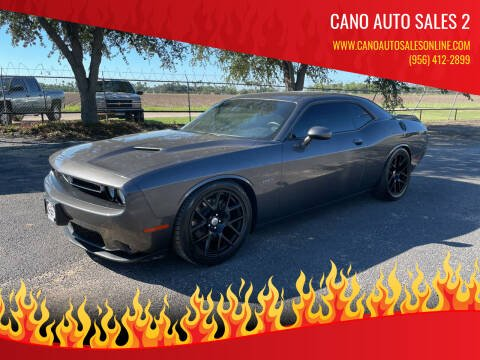 2018 Dodge Challenger for sale at Cano Auto Sales 2 in Harlingen TX
