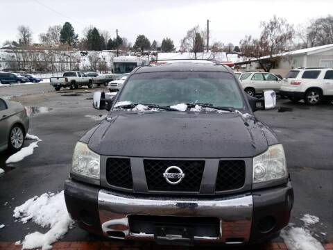 2006 Nissan Armada for sale at Marvelous Motors in Garden City ID