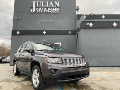 2016 Jeep Compass for sale at Julian Auto Sales, Inc. in Warren MI