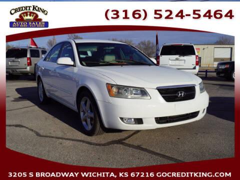2007 Hyundai Sonata for sale at Credit King Auto Sales in Wichita KS