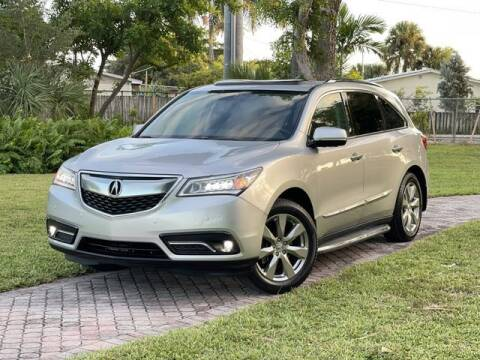 2014 Acura MDX for sale at Citywide Auto Group LLC in Pompano Beach FL