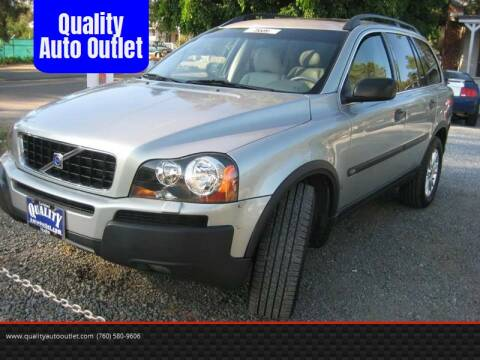 2004 Volvo XC90 for sale at Quality Auto Outlet in Vista CA