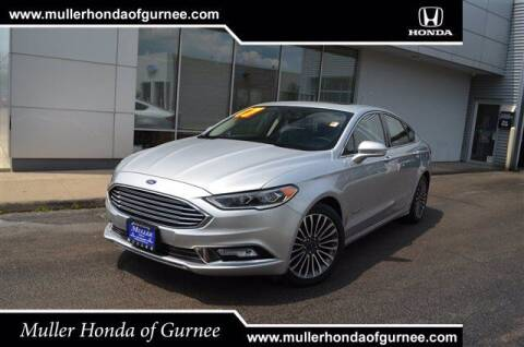 2017 Ford Fusion Hybrid for sale at RDM CAR BUYING EXPERIENCE in Gurnee IL