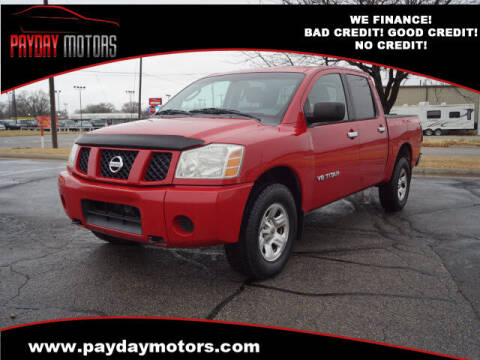 2007 Nissan Titan for sale at Payday Motors in Wichita And Topeka KS