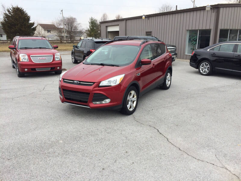 2013 Ford Escape for sale at KEITH JORDAN'S 10 & UNDER in Lima OH