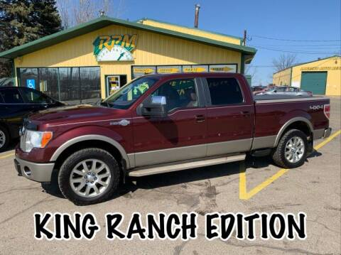 2009 Ford F-150 for sale at RPM AUTO SALES in Lansing MI