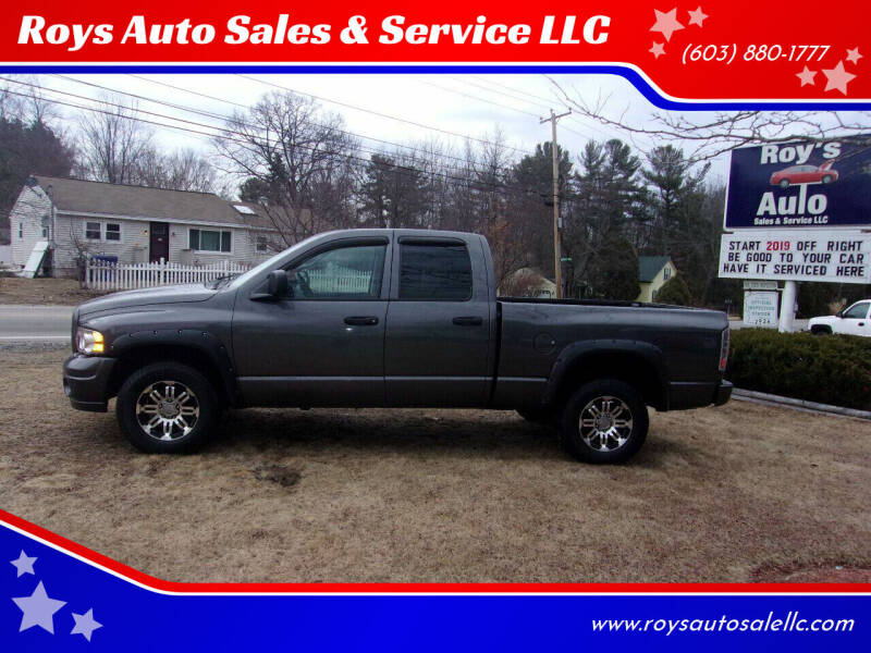 2003 Dodge Ram Pickup 1500 for sale at Roys Auto Sales & Service in Hudson NH