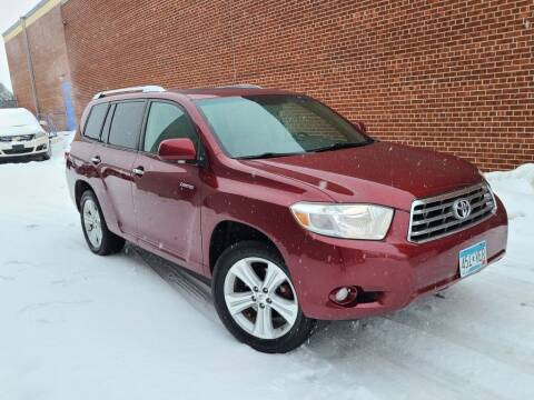 2010 Toyota Highlander for sale at Minnesota Auto Sales in Golden Valley MN
