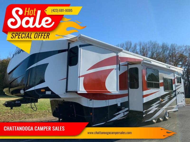 2008 Newmar M-38CKTH TOY HAULER for sale at CHATTANOOGA CAMPER SALES in Chattanooga TN