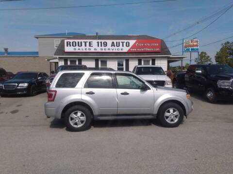 2010 Ford Escape for sale at ROUTE 119 AUTO SALES & SVC in Homer City PA