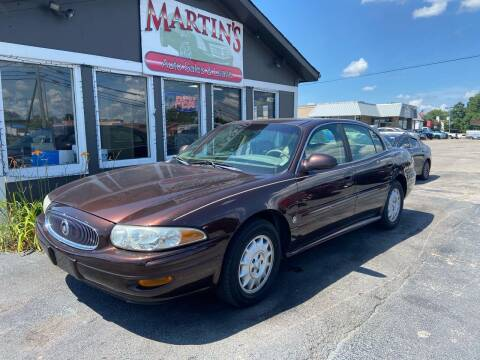2001 Buick LeSabre for sale at Martins Auto Sales in Shelbyville KY