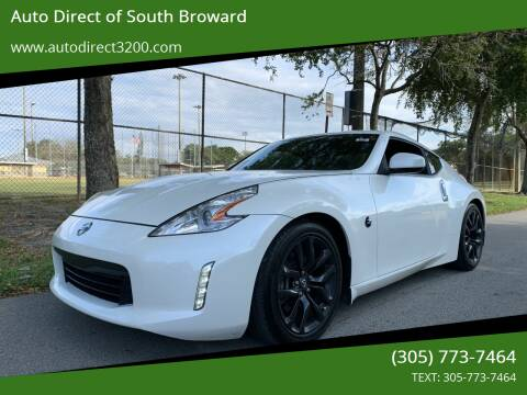 2016 Nissan 370Z for sale at Auto Direct of South Broward in Miramar FL