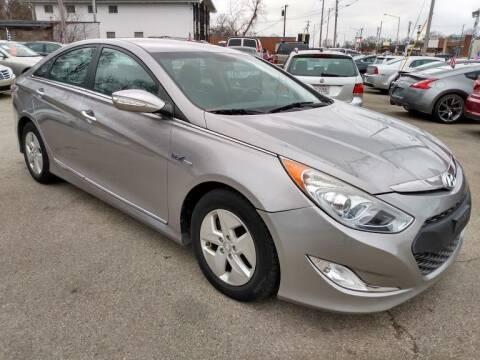 2012 Hyundai Sonata Hybrid for sale at AutoLink LLC in Dayton OH