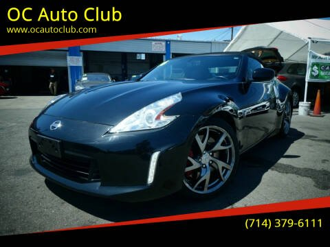 2016 Nissan 370Z for sale at OC Auto Club in Midway City CA
