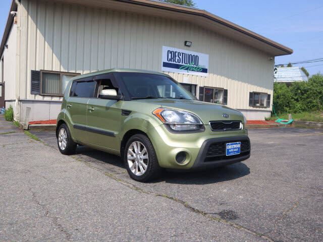 2012 Kia Soul for sale at Crestwood Auto Sales in Swansea MA