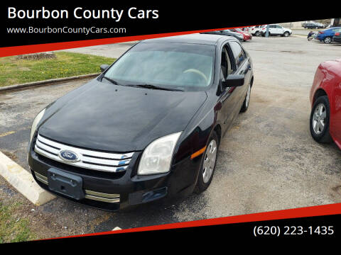 2007 Ford Fusion for sale at Bourbon County Cars in Fort Scott KS