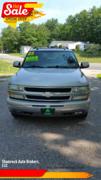 2005 Chevrolet Suburban for sale at Shamrock Auto Brokers, LLC in Belmont NH