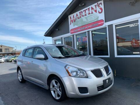 2009 Pontiac Vibe for sale at Martins Auto Sales in Shelbyville KY