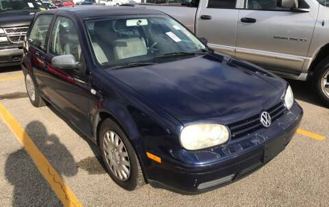 2001 Volkswagen Golf for sale at Trocci's Auto Sales in West Pittsburg PA